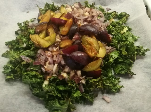 Image for Toasted kale salad