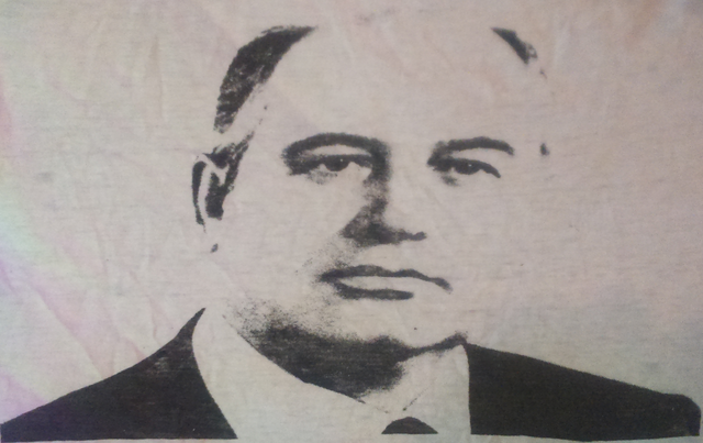 Image for Mikhail Gorbachev T-shirt graphic preservation for future generations